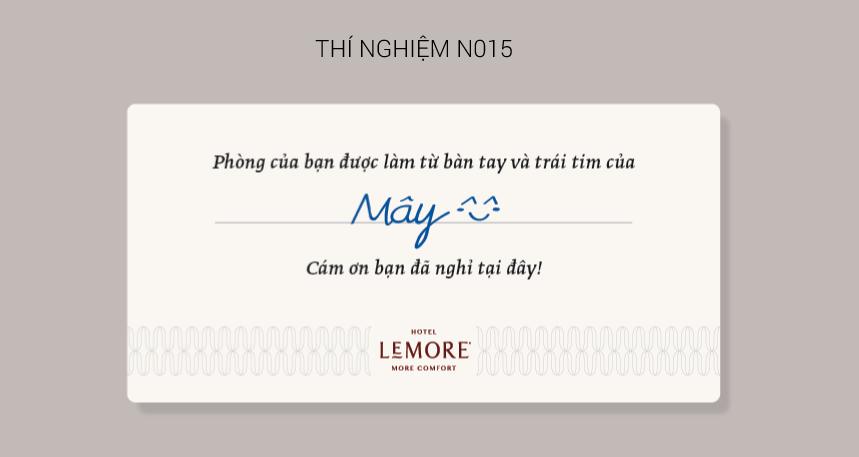 Thiết kế đồ họa khách sạn tiết kiệm Lemore B&A bna.com.vn