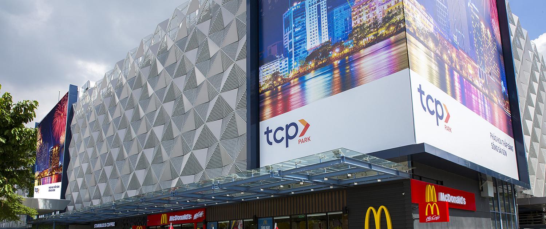 Mặt tiền hiện đại của TCP Park