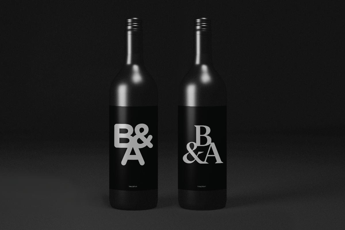 Thiết kế rượu vang B&A